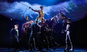 Dreamed up in the pub … War Horse at the National Theatre.