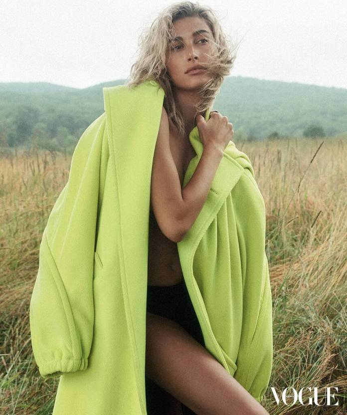 Hailey Bieber, Vogue Australia, October 2019