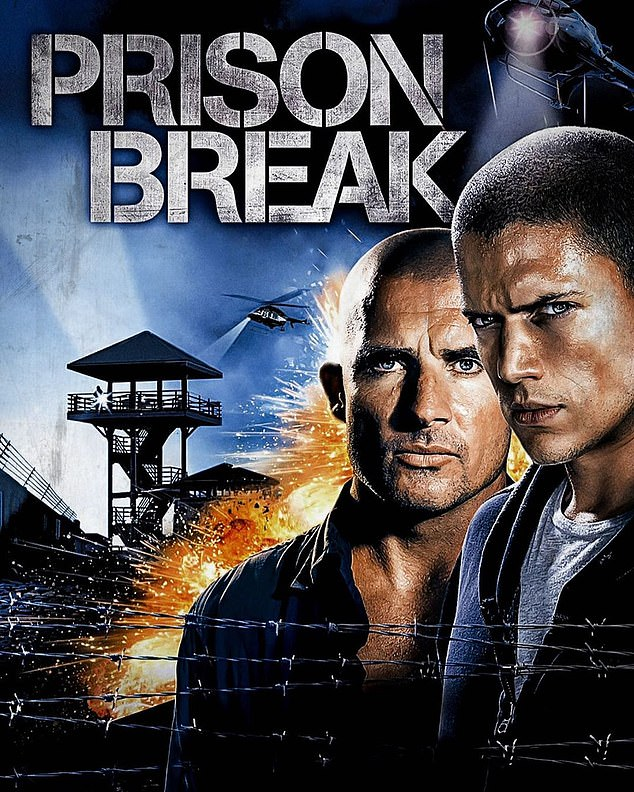 Hollywood heartthrob: Dominic is best known for his role as protagonist Lincoln Burrows on FOX's Prison Break