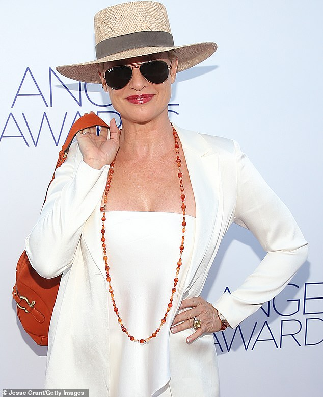 She stormed the red carpet in an all-white ensemble