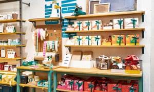 The new Body Shop concept shop.