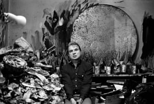 Modernity and extremity … Francis Bacon in 1985.