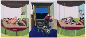a triptych inspired by TS Eliot's poem, Sweeney Agonistes, 1967.