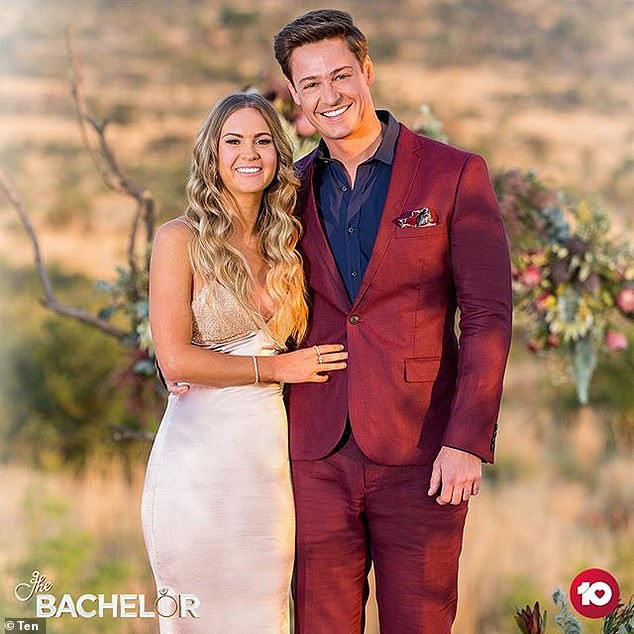 Winner! After dumping Abbie, Matt confessed his love for Chelsie McLeod (pictured)