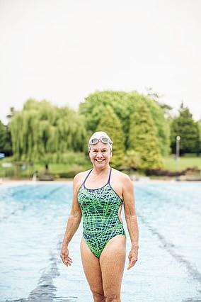 Ellery McGowan, 73, has won multiple world championships in open-water, marathon and winter swimming