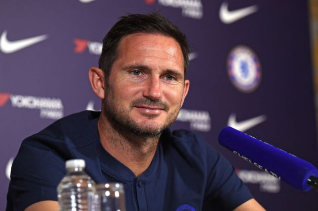 A photo of Chelsea manager Frank Lampard ahead of the Champions League match against Valencia