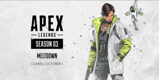 A header for a new Apex Legend's character called Crypto