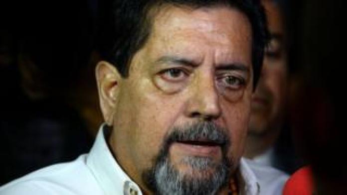 Edgar Zambrano following his release