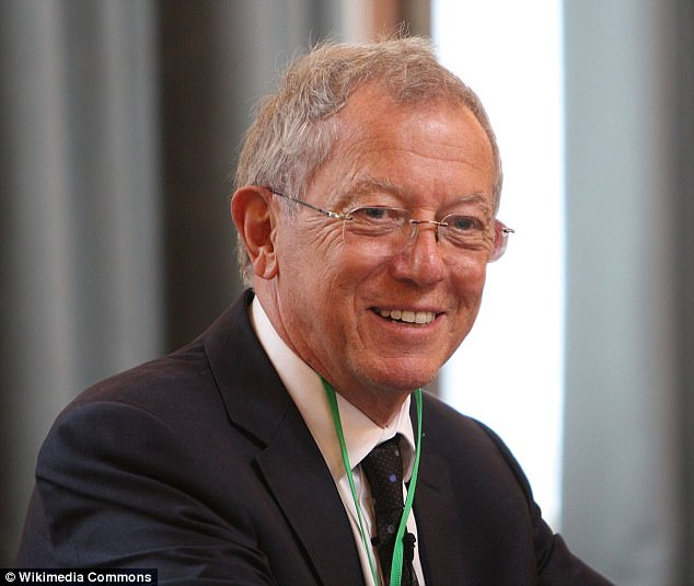 Professor Sir David King (file photo) served as the UK government's chief scientific advisor under Tony Blair and Gordon Brown. He is supporting a legal case forcing ministers to shrink carbon emissions to zero by 2050