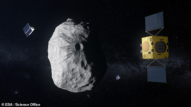 Scientists from NASA and the European Space Agency will meet in Rome, Italy, next week to discuss progress on the development of an asteroid deflection system