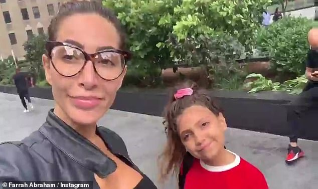 The latest:Farrah Abraham, 28, was panned Wednesday after a social media post commemorating 9/11, filmed at One World Trade Center in New York City alongside her 10-year-old daughter Sophia, was ripped as tone deaf