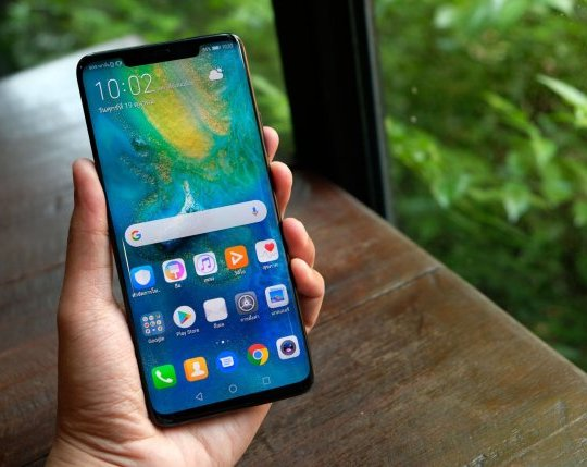 LONDON ENGLAND : HUAWEI launch new smartphone HUAWEI Mate 20 Pro Emerald Green on October 16 ,2018 london ,england; Shutterstock ID 1207084684; Purchase Order: -