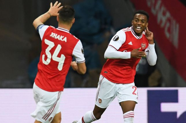 Joe Willock's deflected effort was enough for Arsenal (Picture: Getty)