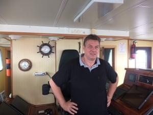Benoit Beernaert will be heading to Danish waters instead of British ones from November.