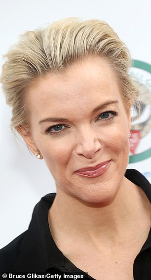 Controversial figure: Theron plays former Fox News anchor Megyn Kelly, 48, in Bombshell (pictured May 20 in New York City)