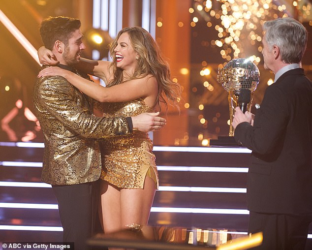 Season finale: Hannah Brown and Alan Bersten won season 28 of Dancing With The Stars on Monday during a two-hour finale on ABC