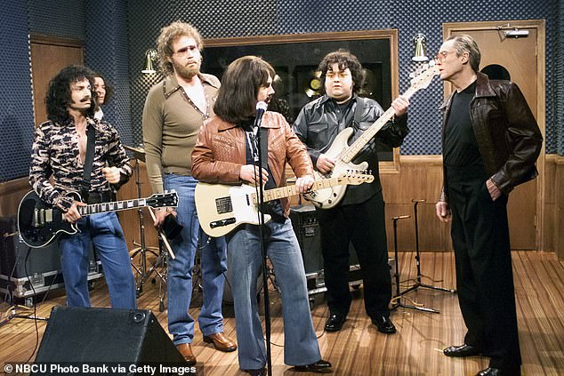 A fan favorite:Will Ferrell worked with Christopher Walken on a 'Cowbell' skit on Saturday Night Live in the year 2000 and the veteran actor has said it has done him in