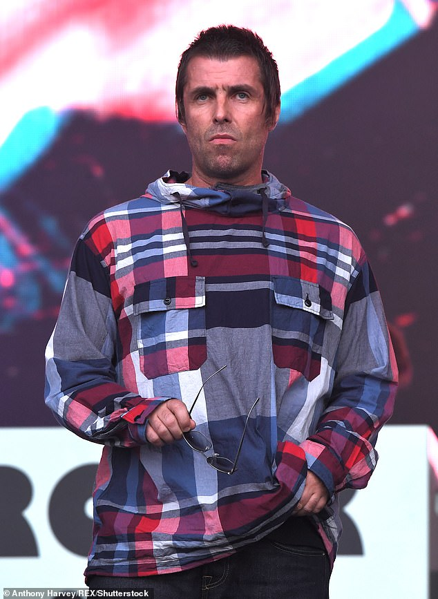 Noel continued: 'In here on camera, playing to the gallery, fine, good. But when it f*****g matters, he's abusing my wife and my kids' (above Liam in June 2019)