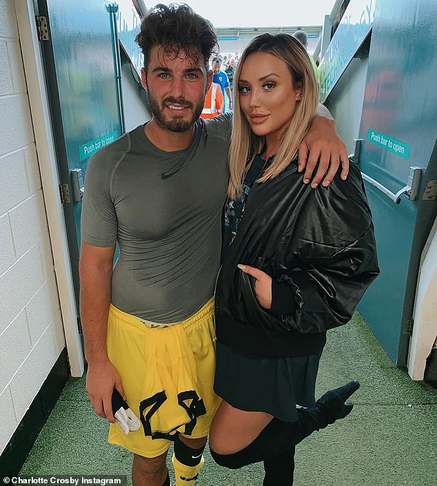 He's in the past:The reality star, 29, announced she and ex Joshua Ritchie, 25, had parted ways after two years in November amid claims he refused to settle down with her