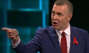 Adam Price in the ITV leaders' debate.
