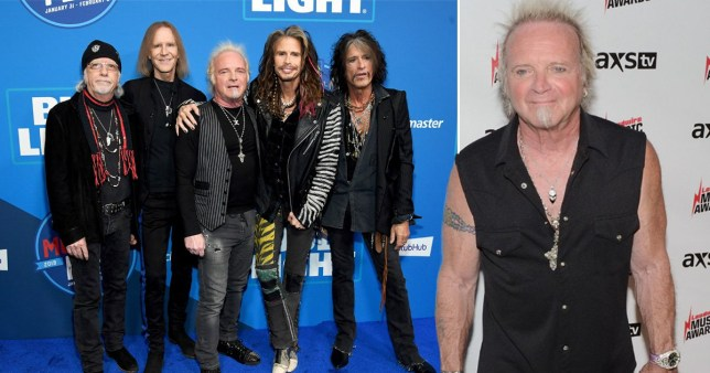 Joey Kramer and Aerosmith
