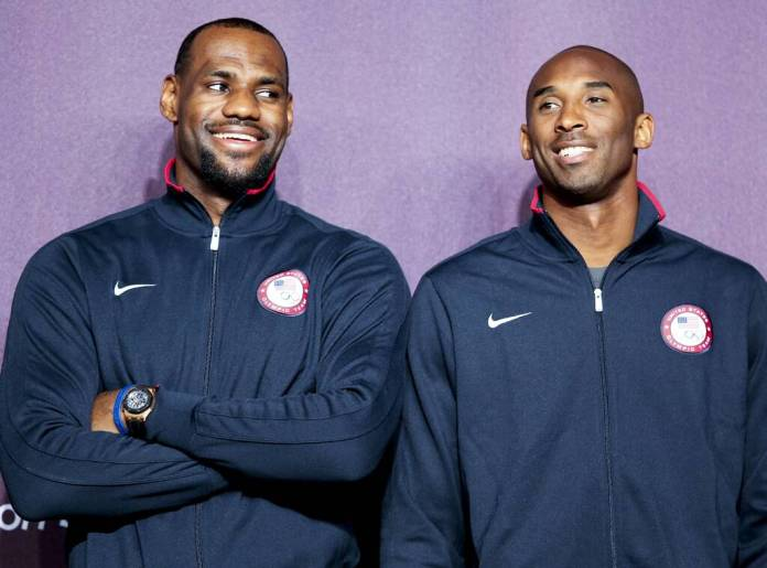 Kobe Bryant, LeBron James, Life In Photos