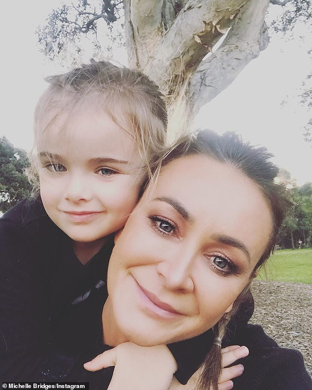 Details: Michelle was allegedly caught over the limit with her son (pictured) in the car on New South Head Road, in the Sydney suburb of Bellevue Hill, about 11.25am on Sunday