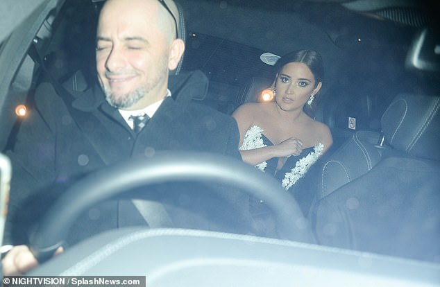 I'm A Celebrity... Get Me Out Of Here!: Other celebs making a quick exit included I'm A Celeb winner Jacqueline Jossa who was seen hiking up the bodice of her dress as she got a taxi home