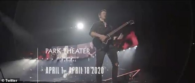 Save the date: The Jonas Brothers will be performing in the Park Theater at Park MGM from April 1st to April 18th