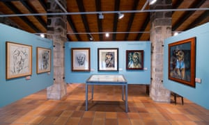 Display at Centre Picasso museum in Horta, Catalonia, Spain.