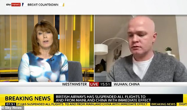 Mr Lambert, 31, told Sky News this morning the Foreign Office had given him assurances the evacuation will take place tomorrow, but there was no set time yet