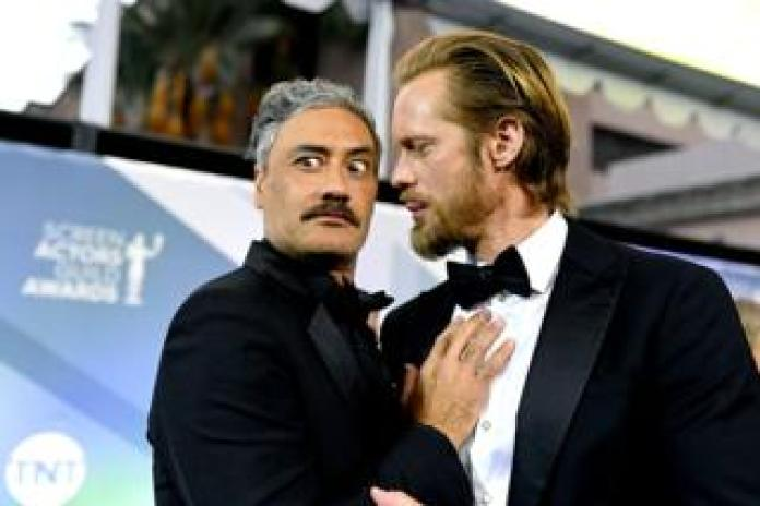 Taika Waititi and Alexander Skarsgard
