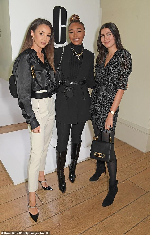 Stylish:Danielle Peazer, Uche Natori and Tijan Serena Mazour were also at the event