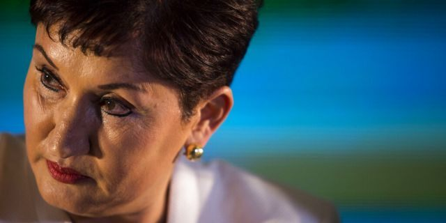 In this March 10, 2019 file photo, Thelma Aldana, Guatemala's former chief prosecutor, listens to a journalist's question as she gives a press conference during her campaign event for president, in Guatemala City. The United States has granted political asylum to Aldana on Monday, Feb. 23, 2020, after she was subject to death threats and political persecution. (AP Photo/Oliver de Ros, File)