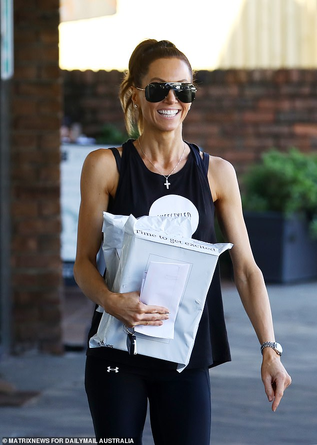 It's over! Kyly Clarke (pictured) has broken her silence after announcing her split from her husband, former Australian cricket captain Michael Clarke, on Wednesday
