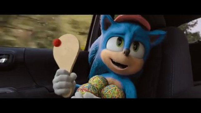 Sonic The Hedgehog - Super Bowl ad Paramount Pictures