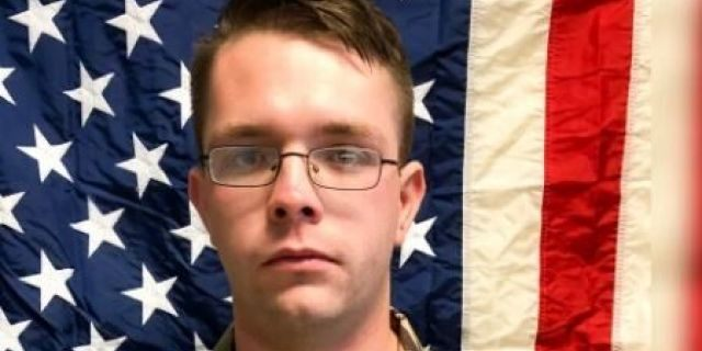 Spc. Branden Tyme Kimball joined the Army in 2016 as an aircraft structural repairer.