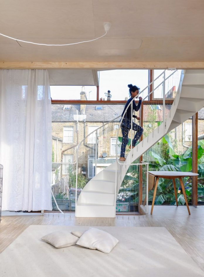 Three Rooms Under a New Roof by Ullmayer Sylvester in London