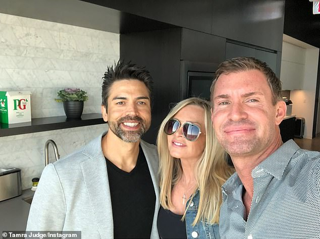 """Tamra laughed on Jeff Lewis' (R) Sirius XM Radio show Thursday: 'Everybody's going to be like, """"Oh my god she can't afford her house!"""" Our house wasn't even on the market [before Shelley found a buyer]...We're going to start [house] flipping. I love it. I really miss real estate'"""