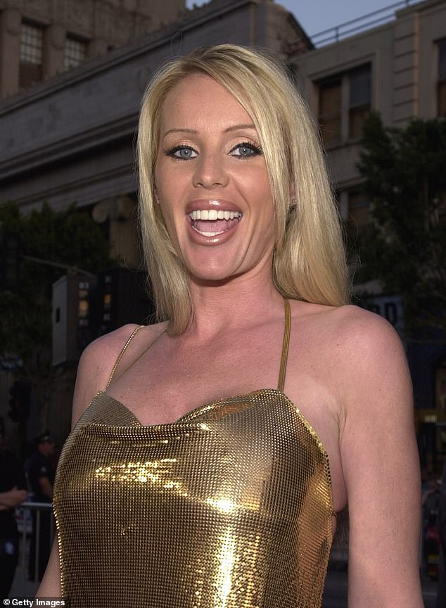 She had the Baywatch look: The cover girl was seen at the premiere of Driven in 2001