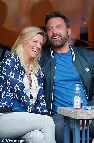 Looking for love: Affleck's most meaningful relationship post-marriage was with SNL producer Lindsay Shookus (left)  who he dated on and off for two years until 2019. He also enjoyed a short romance with model Shauna Sexton (right).