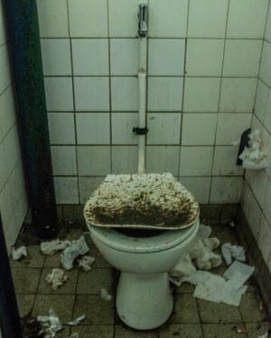 The female public toilet is often used for sexual encounters