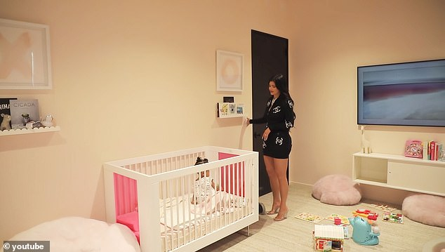 Rise and shine:The 22-year-old Kylie went viral during an Instagram Live tour of her offices, when she sang, 'rise and shine' to wake up her daughter Stormi, and by the end of the day, Kris Jenner wanted t-shirts printed up. 'Rise and shine': Kylie Jenner sings Stormi a precious lullaby