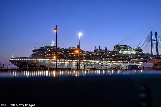 CDC officials told Americans to expect US coronavirus cases to rise after the repatriation of the passengers of the cruise ship (pictured), which had the greatest number outside China