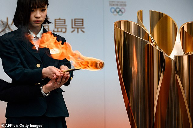 The Tokyo Olympic torch relay which was meant to start on Thursday in the northeastern Fukushima prefecture has also been cancelled