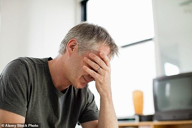 Coronavirus may cause infertility in men even if they suffer mild forms of the disease, it has been claimed. (stock image)