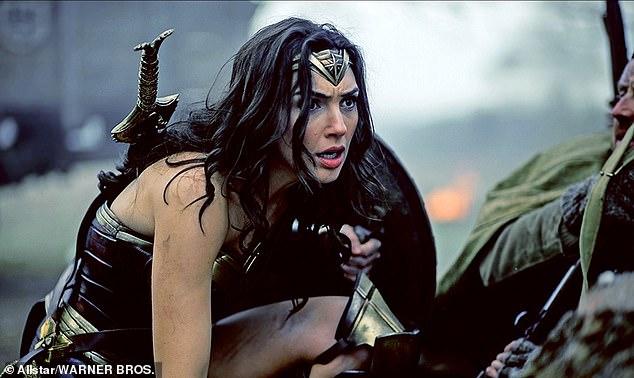 Hit film: Gal Gadot is seen in Wonder Woman