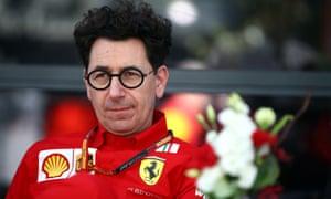 Ferrari's Mattia Binotto