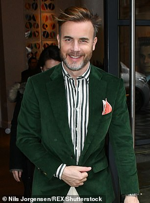 Stars: Singer Gary Barlow will also appear on the show