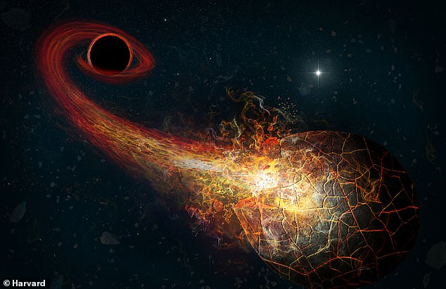 The 'planet' could be a massive planet or a 'primordial black hole' that crams the mass of up to 10 Earth sized objects into a grapefruit sized sphere, according to astronomers